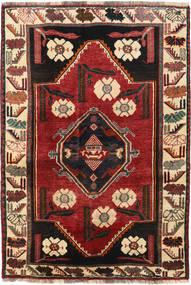 Qashqai Rug 125X182 Authentic  Oriental Handknotted Dark Red/Black (Wool, Persia/Iran)