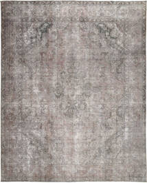 Colored Vintage Rug 297X373 Authentic  Modern Handknotted Light Grey Large (Wool, Pakistan)