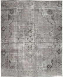 Colored Vintage Rug 270X341 Authentic  Modern Handknotted Light Grey/Dark Grey Large (Wool, Pakistan)