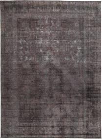 カラード ヴィンテージ 絨毯 273X331 モダン 手織り 濃いグレー/紺色の/濃い茶色 大きな (ウール, パキスタン)