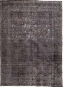 Colored Vintage Teppich  273X331 Echter Moderner Handgeknüpfter Dunkelgrau/Dunkelblau/Dunkelbraun Großer (Wolle, Pakistan)