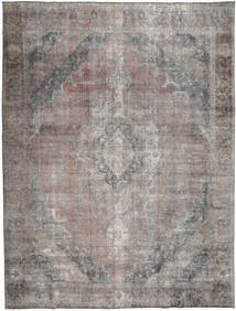 Colored Vintage Rug 296X383 Authentic  Modern Handknotted Light Grey/Dark Grey Large (Wool, Pakistan)
