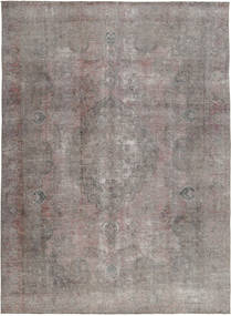 Colored Vintage Rug 274X376 Authentic  Modern Handknotted Light Grey/Dark Grey Large (Wool, Pakistan)