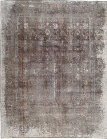 Colored Vintage Rug 293X375 Authentic  Modern Handknotted Light Grey/Dark Grey Large (Wool, Pakistan)