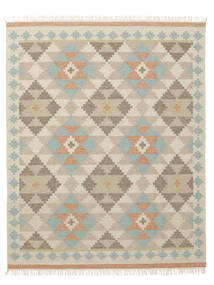 Summer Kilim Rug 240X340 Authentic  Modern Handwoven Beige/Dark Beige/Light Grey (Wool, India)