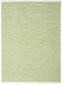 Diamond Wool - Green Rug 210X290 Authentic  Modern Handwoven Light Green/White/Creme (Wool, India)