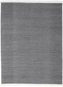 Diamond Wool - Black Rug 210X290 Authentic  Modern Handwoven Dark Grey/Light Grey (Wool, India)