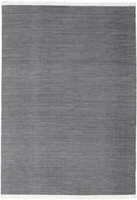 Diamond Wool - Black Rug 240X340 Authentic  Modern Handwoven Dark Grey/Light Grey (Wool, India)