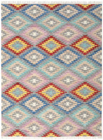 Spring Kilim Rug 240X340 Authentic  Modern Handwoven Light Grey/Beige (Wool, India)