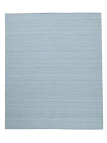 Kilim Loom - Light Blue Rug 250X300 Authentic  Modern Handwoven Light Blue Large (Wool, India)