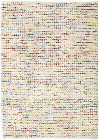 Big Drop - Multi Mix Vloerkleed 160X230 Echt Modern Handgeweven Beige/Lichtbruin (Wol, India)