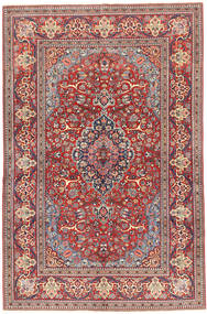 Keshan Alfombra 130X203 Oriental Hecha A Mano Rojo Oscuro/Violeta (Lana, Persia/Irán)
