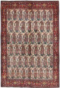Senneh Antik Rug 140X208 Authentic  Oriental Handknotted Dark Brown/Dark Red (Wool, Persia/Iran)