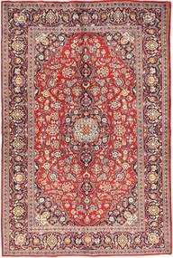 Keshan Alfombra 140X214 Oriental Hecha A Mano Marrón Claro/Violeta (Lana, Persia/Irán)