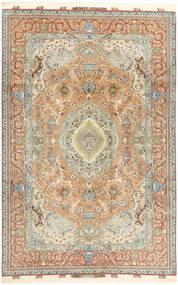 Tabriz#70 Raj 絹の縦糸 Signature : Pakdasht 絨毯 AXVZZH148