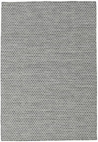 Kilim Honey Comb - Honeycomb Black / Grey carpet CVD18736