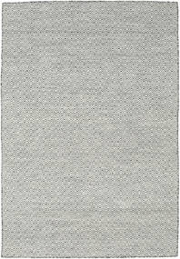 Kilim Goose Eye - Black/Grey Rug 160X230 Authentic  Modern Handwoven Light Grey/Dark Grey/Beige (Wool, India)