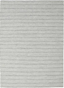Kilim Long Stitch - Grey Rug 210X290 Authentic  Modern Handwoven Light Grey/Beige (Wool, India)