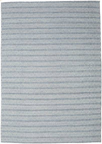 Kilim Long Stitch - Blue Rug 240X340 Authentic  Modern Handwoven Light Grey/Light Blue (Wool, India)