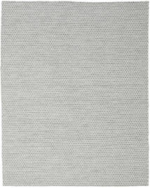 Kilim Honey Comb - Grey Rug 240X300 Authentic  Modern Handwoven Light Grey (Wool, India)