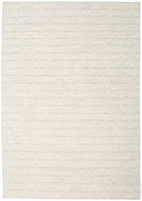 Kilim Long Stitch - Beige Rug 240X340 Authentic  Modern Handwoven Light Grey/Beige (Wool, India)