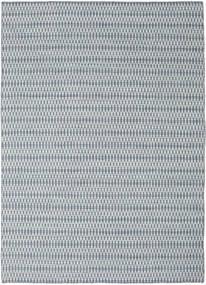Kelim Long Stitch - Sininen Matto 210X290 Moderni Käsinkudottu Vaaleanharmaa/Valkoinen/Creme/Vaaleansininen (Villa, Intia)