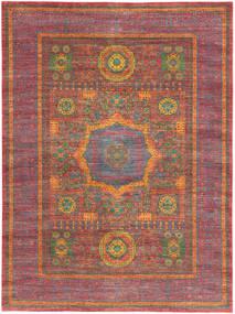 Ziegler Mamlouk Teppich 211X286 Echter Orientalischer Handgeknüpfter Rost/Rot/Braun (Wolle, Pakistan)
