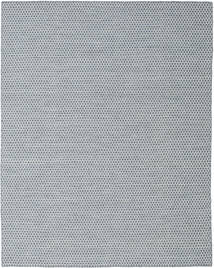 Kilim Honey Comb - Blue Rug 240X300 Authentic  Modern Handwoven Light Grey/Light Blue (Wool, India)