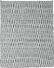 Kilim Honey Comb - Dark Grey Rug 240X300 Authentic  Modern Handwoven Light Blue/Light Grey/White/Creme (Wool, India)