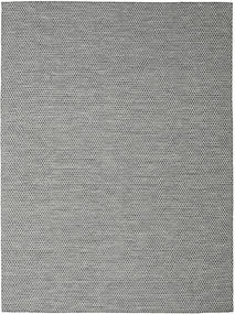 Kilim Honey Comb - Black/Grey Rug 290X390 Authentic  Modern Handwoven Light Grey/Dark Grey Large (Wool, India)