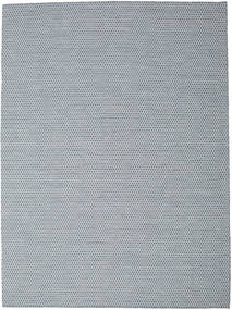 Kilim Honey Comb - Blue Rug 290X390 Authentic  Modern Handwoven Light Grey/Light Blue Large (Wool, India)