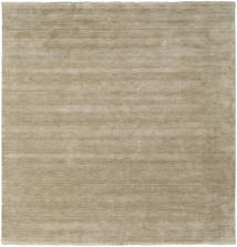 Handloom fringes - Light Grey / Beige carpet CVD16593
