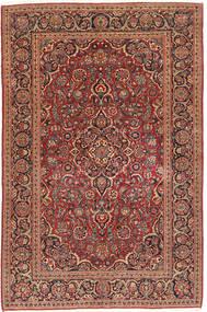 Keshan Patina Rug 130X204 Authentic  Oriental Handknotted Dark Red/Light Brown (Wool, Persia/Iran)