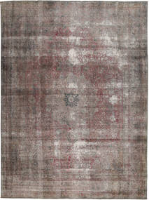 Colored Vintage Rug 252X340 Authentic  Modern Handknotted Light Grey/Light Brown Large (Wool, Pakistan)