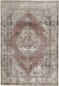 Colored Vintage Rug 196X297 Authentic  Modern Handknotted Light Grey/Light Brown (Wool, Pakistan)