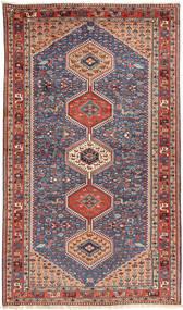 Yalameh Vloerkleed 157X270 Echt Oosters Handgeknoopt Donkerrood/Donkergrijs (Wol, Perzië/Iran)