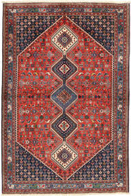 Yalameh Rug 160X245 Authentic  Oriental Handknotted Dark Grey/Brown (Wool, Persia/Iran)