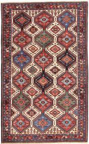 Yalameh Alfombra 153X250 Oriental Hecha A Mano Marrón Oscuro/Rojo Oscuro (Lana, Persia/Irán)