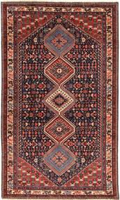 Yalameh Tappeto 146X252 Orientale Fatto A Mano Rosso Scuro/Marrone (Lana, Persia/Iran)
