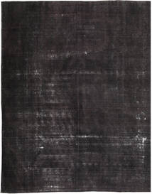 Colored Vintage Rug 290X351 Authentic  Modern Handknotted Black/Dark Blue Large (Wool, Pakistan)