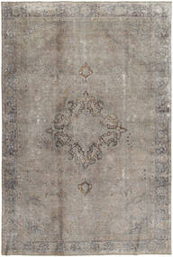 Colored Vintage Rug 193X288 Authentic  Modern Handknotted Light Grey/Dark Grey (Wool, Pakistan)