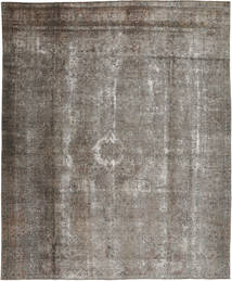 Colored Vintage Rug 300X358 Authentic  Modern Handknotted Light Grey/Dark Grey Large (Wool, Pakistan)
