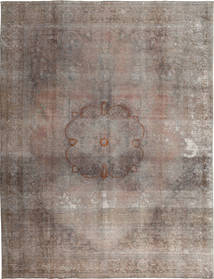Colored Vintage Rug 299X382 Authentic  Modern Handknotted Light Grey Large (Wool, Pakistan)