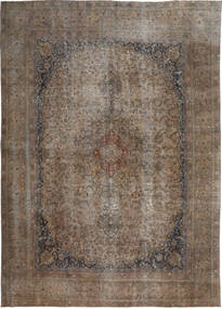 Colored Vintage Tapis 273X375 Moderne Fait Main Marron Clair/Marron Grand (Laine, Pakistan)