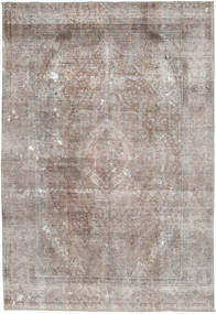 Colored Vintage Rug 203X300 Authentic  Modern Handknotted Light Grey/Light Brown (Wool, Pakistan)