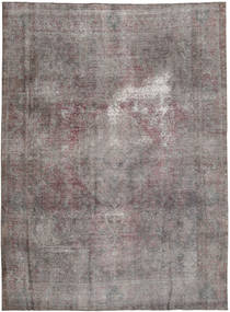 Colored Vintage Rug 243X326 Authentic  Modern Handknotted Dark Grey/Dark Brown (Wool, Pakistan)