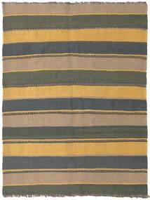 Kilim Rug 151X201 Authentic  Oriental Handwoven Light Brown/Dark Blue (Wool, Persia/Iran)