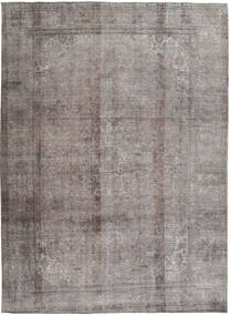 Colored Vintage Rug 242X336 Authentic  Modern Handknotted Light Grey/Dark Brown (Wool, Pakistan)