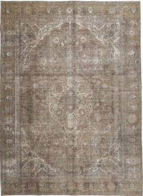 Colored Vintage Rug 288X393 Authentic  Modern Handknotted Light Brown Large (Wool, Pakistan)