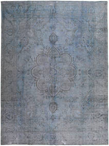 Colored Vintage Rug 293X392 Authentic  Modern Handknotted Light Grey/Dark Grey Large (Wool, Pakistan)